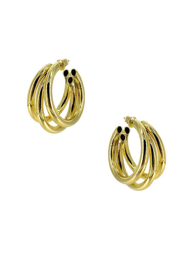 Hide Your Love Away Earrings Item # CLE3722GS