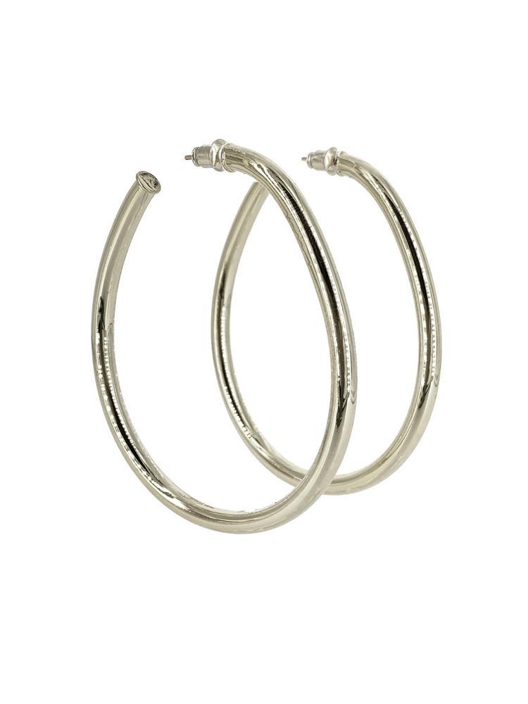 Large Hoop Earrings Item # CLE9105GM