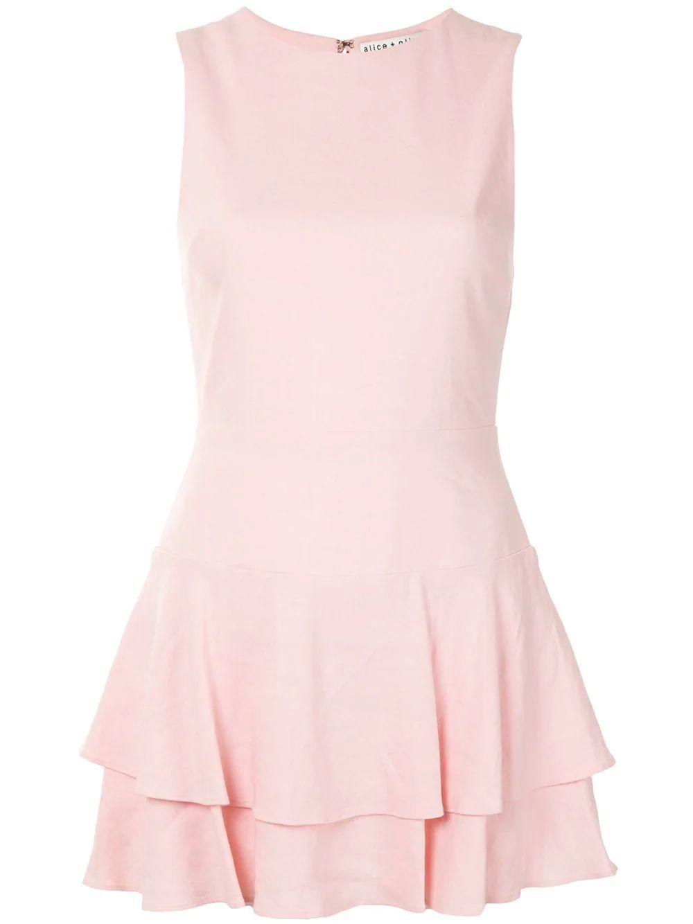 Palmira Sleeveless Ruffle Dress