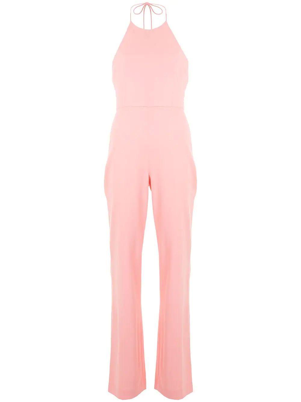 Adinah Neck Sleeveless Jumpsuit Item # CC005202805