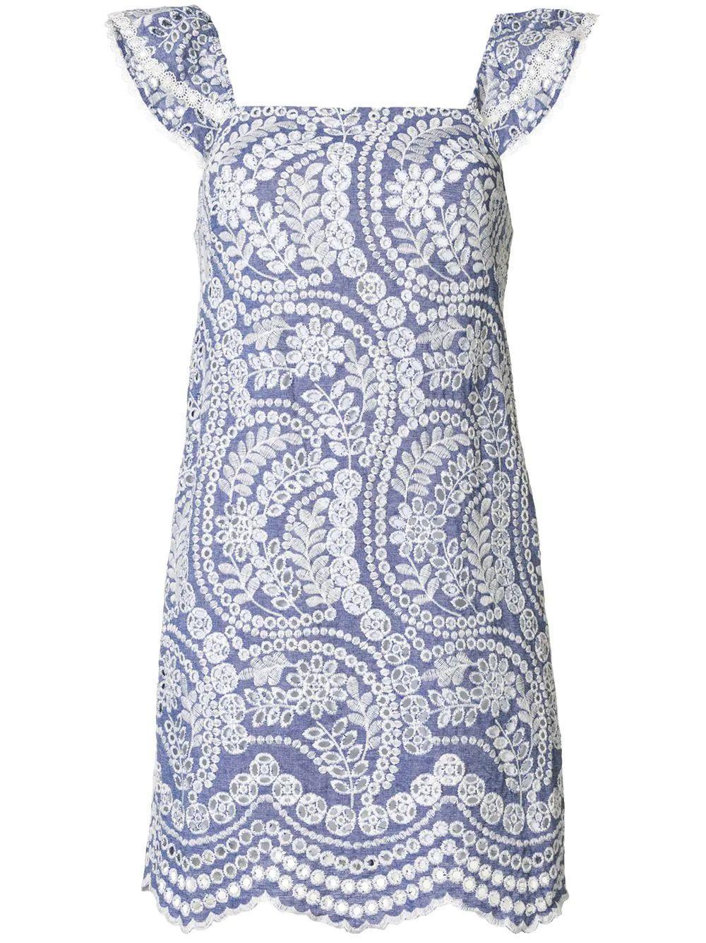 Honor Paisley Dress Item # CC004K04527