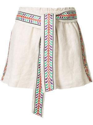 Linn Embroidered Short