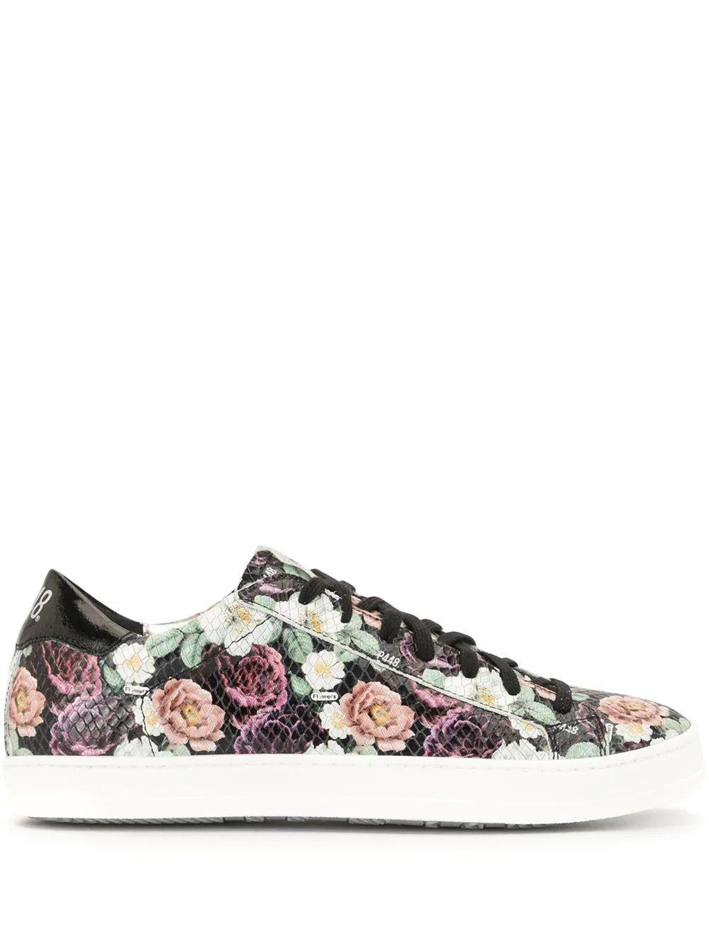 All Over Floral Print Sneaker Item # F20JOHN-W-FLWR