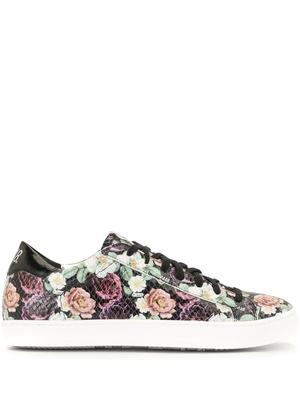 All Over Floral Print Sneaker