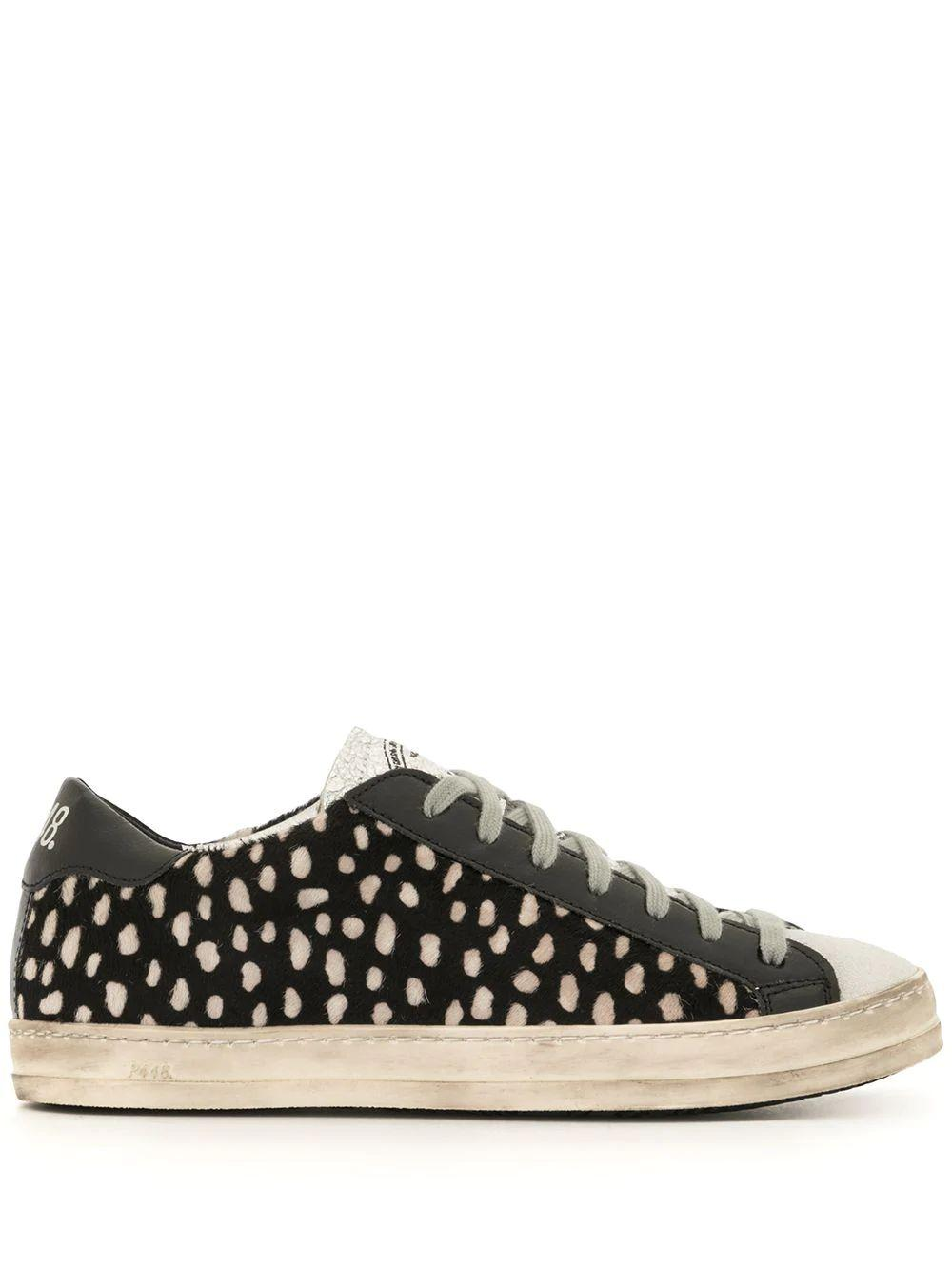 All Over Spotted Sneaker