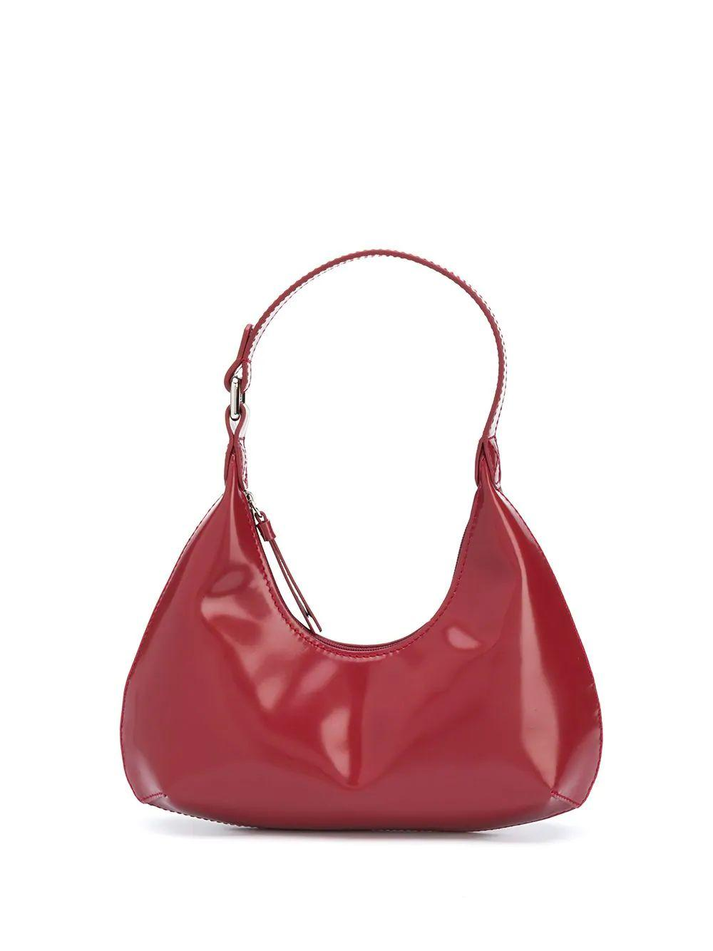 Baby Amber Semi Patent Shoulder Bag