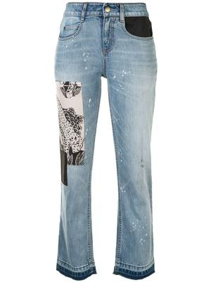 Mcaulay Straight Leg Cropped Jean