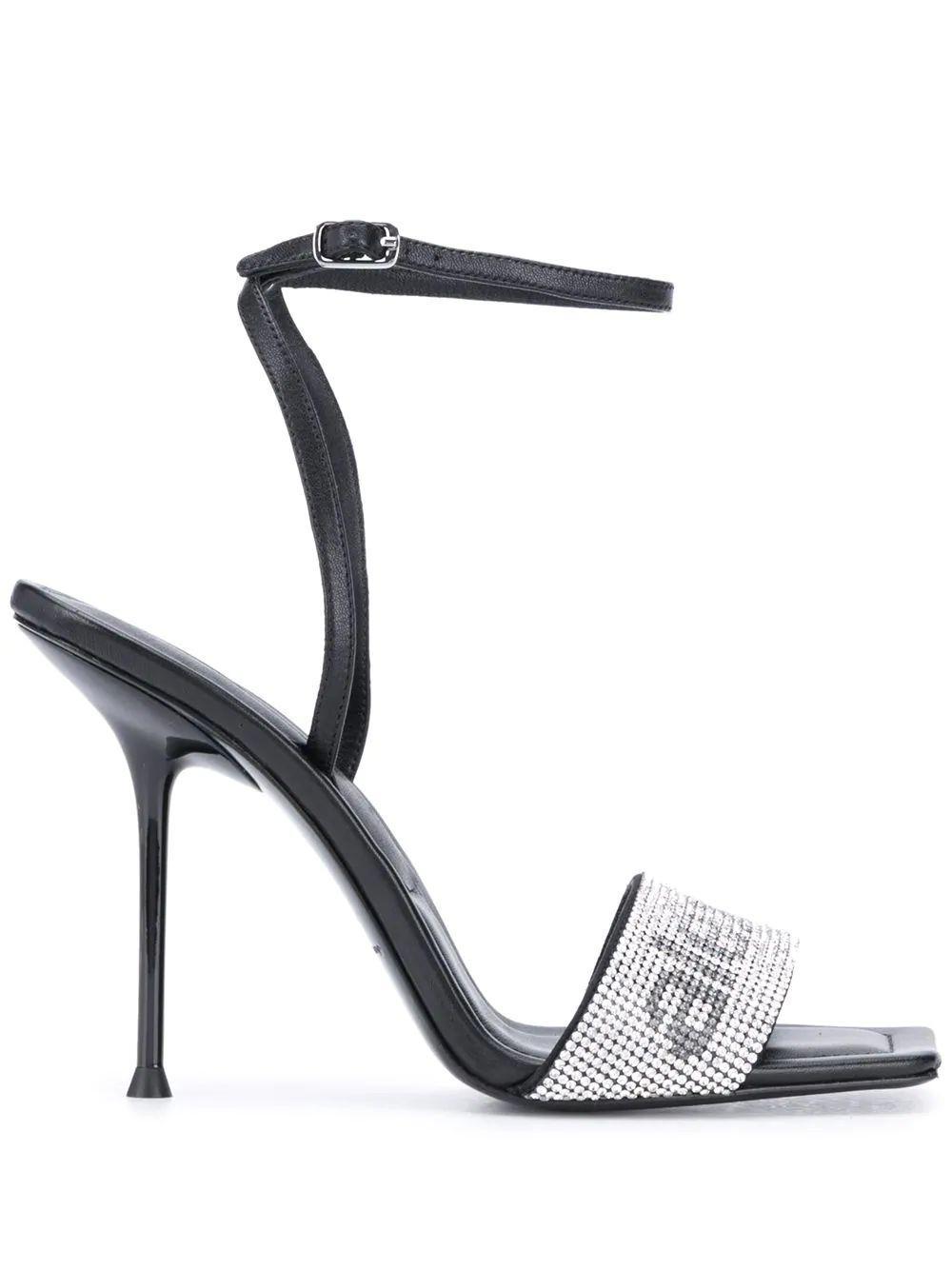 Julie Sandal With Crystals Item # 30C220S034