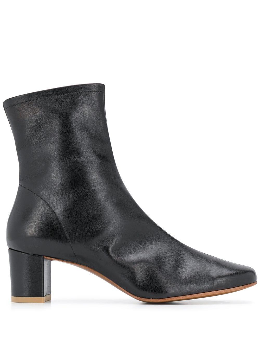 Sofia Leather Bootie Item # 16603-05-SBLKL