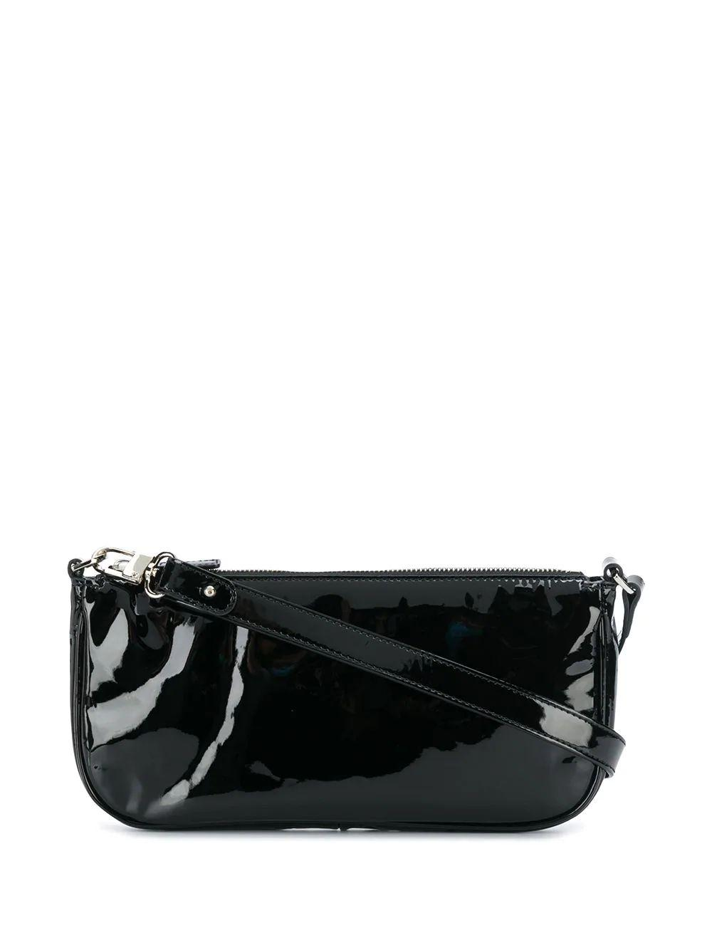 Rachel Patent Leather Shoulder Bag Item # 18FWRCLVBLPMED