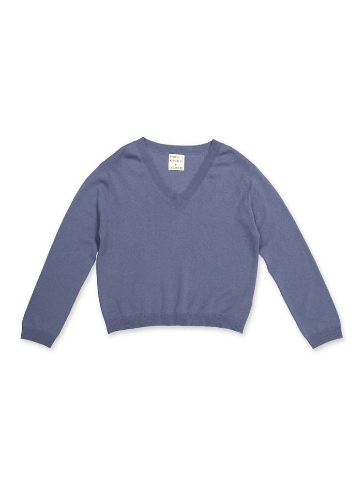 V- Neck Cashmere Sweater Item # 3170