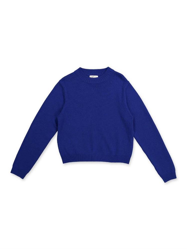 Premium Cropped Crew Neck Sweater Item # 6465