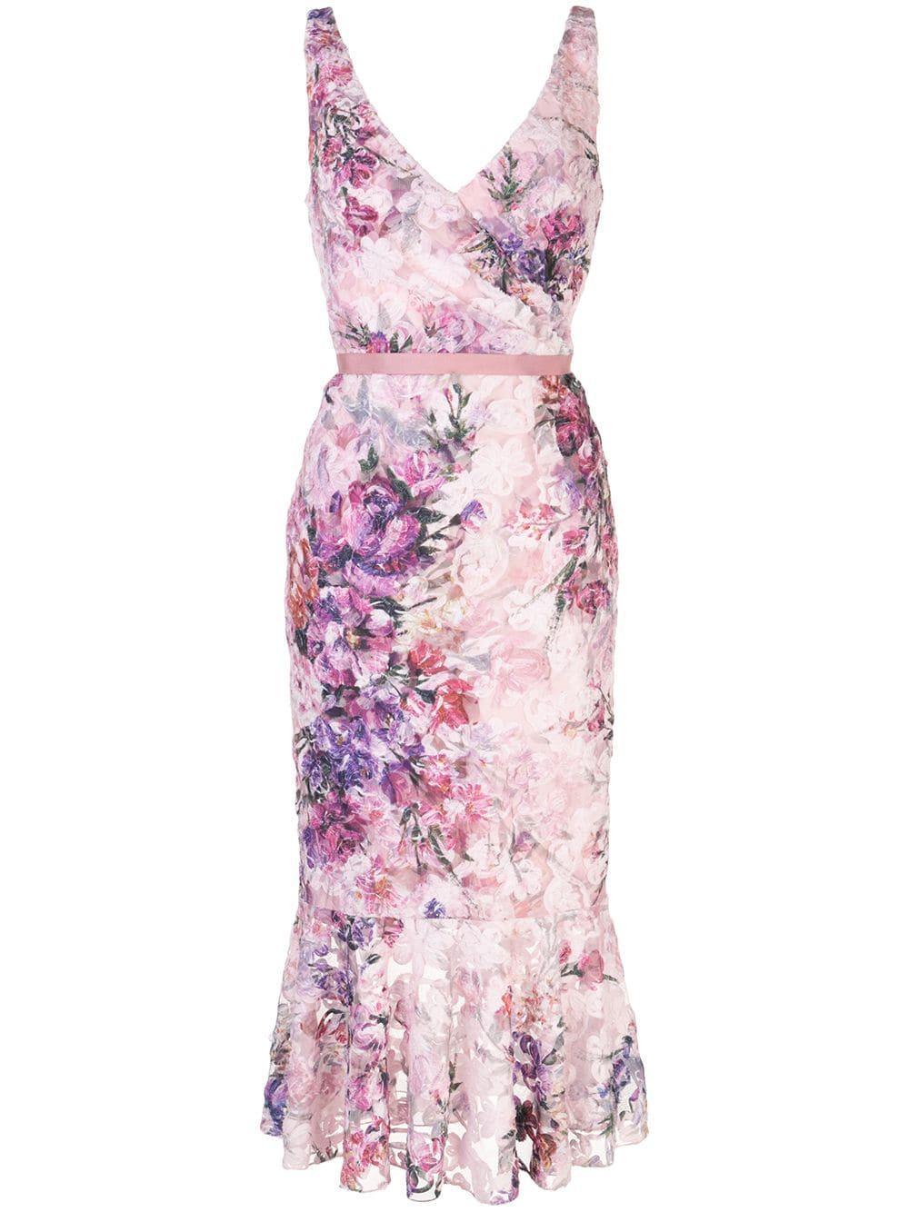 Floral Printed Dress Item # N40C1973