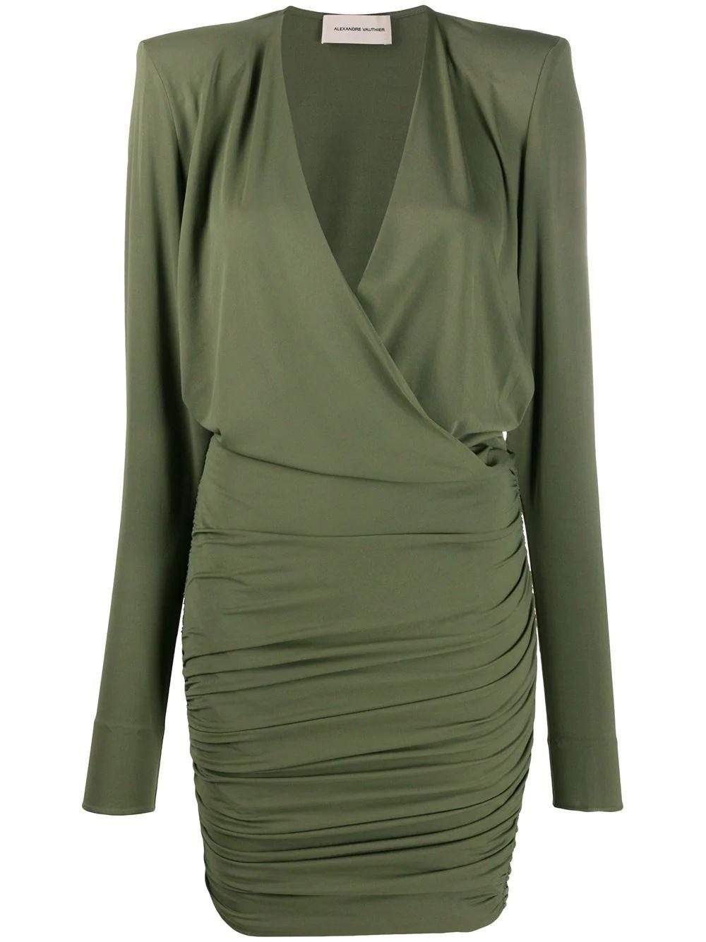 Wrap Top Jersey Dress