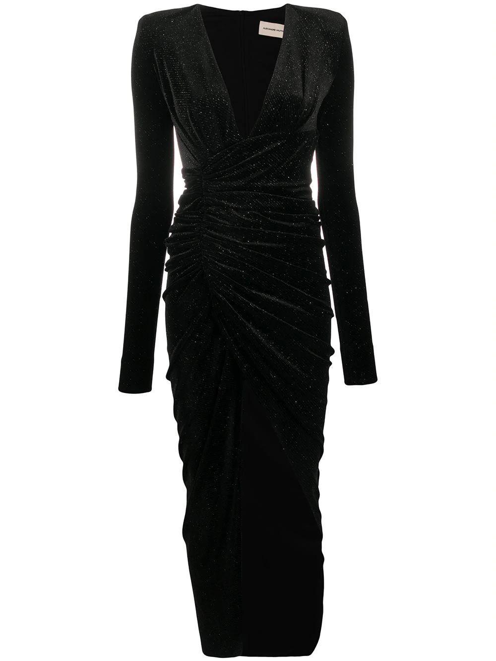 Sparkling Velvet Gown Item # 203DR1108