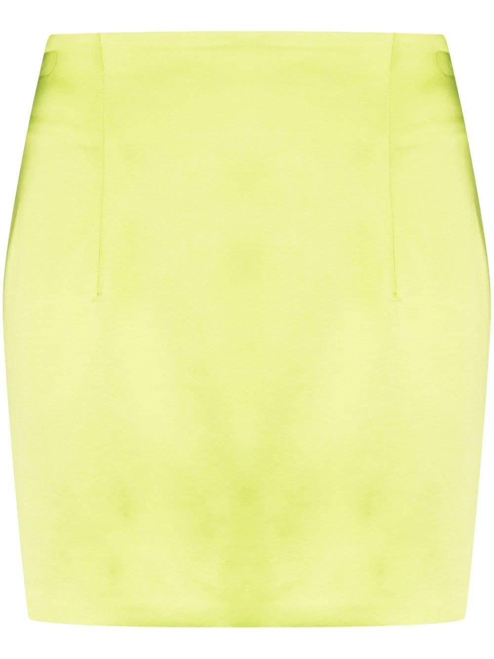 Mani Satin Mini Skirt Item # 3-20-2-3