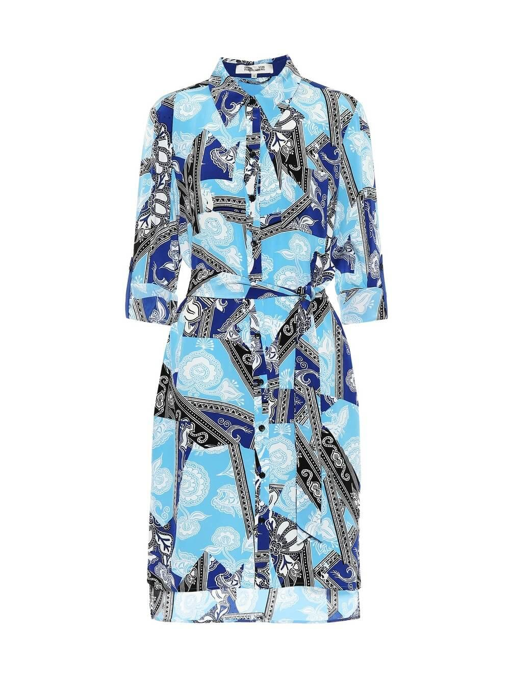 Prita Shirt Dress Item # 13960DVF