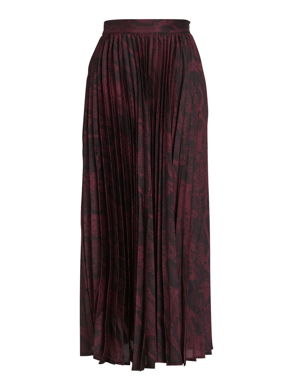 Becky Pleated Midi Skirt Item # L91G571