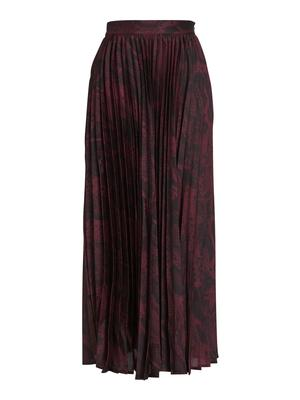 Becky Pleated Midi Skirt