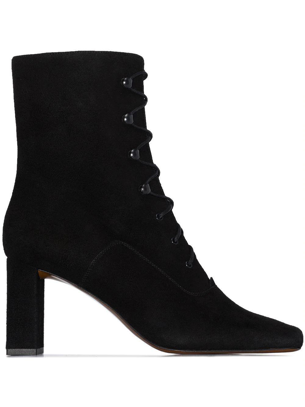 Claude Lace Up Bootie Item # 20PFCLDBBLCS