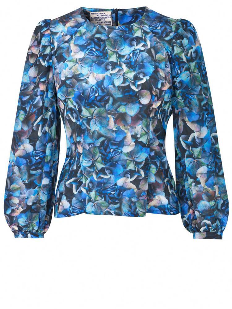 Mylee Long Sleeve Printed Blouse Item # 21285