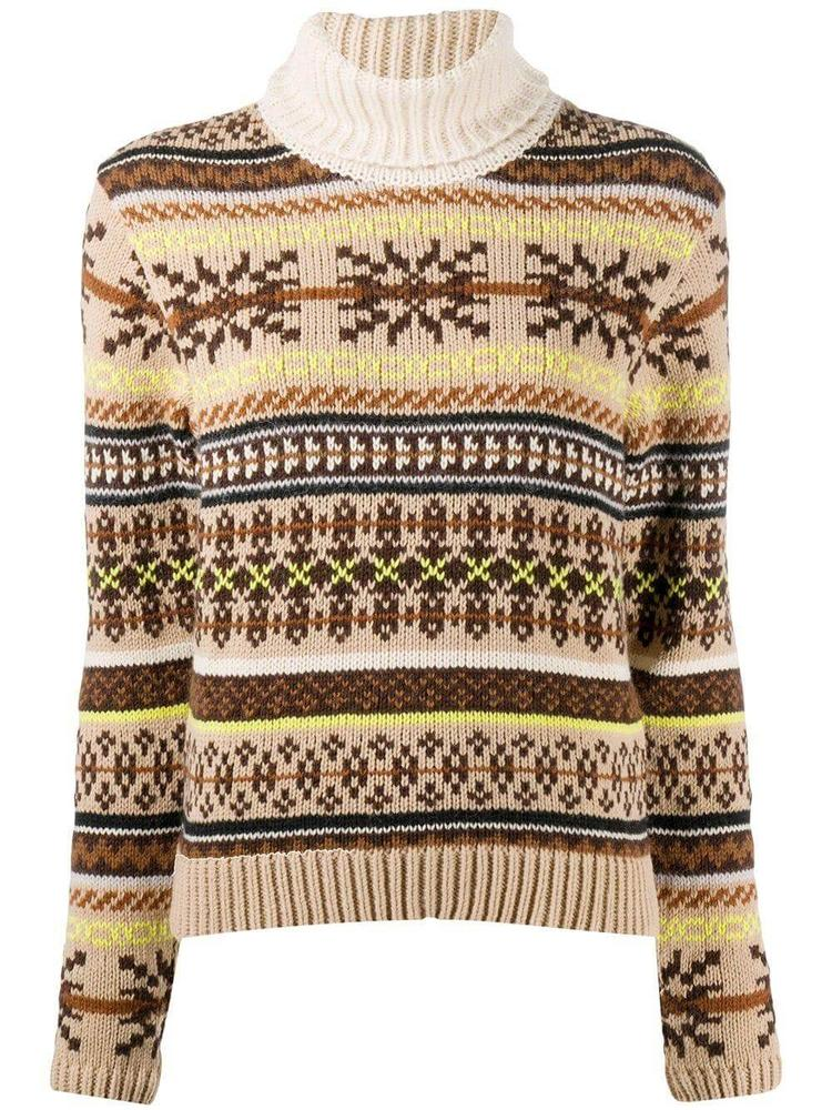 Creedence Fair Isle Turtleneck Sweater Item # 21165