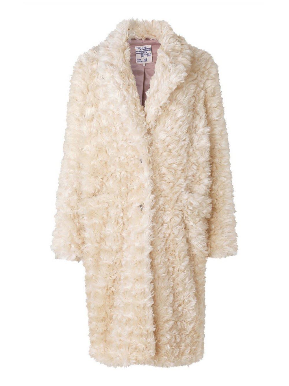 Dary Faux Fur Overcoat Item # 21346