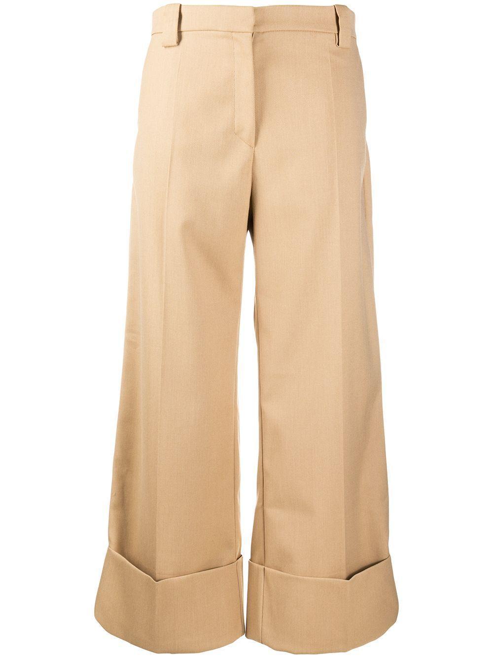 Nayla Cropped Cuffed Pant