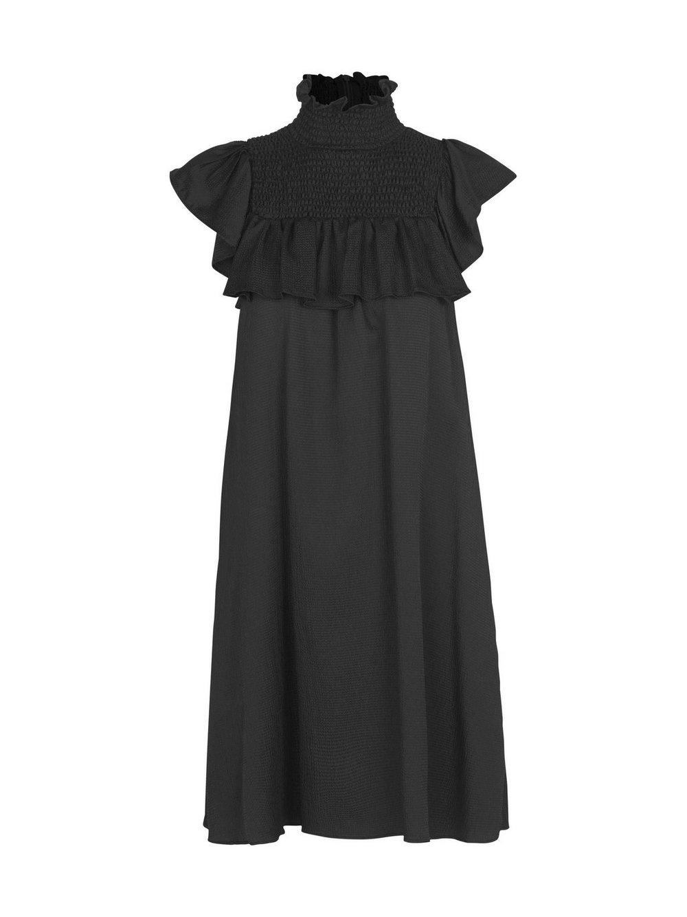 Aelaney High Neck Dress