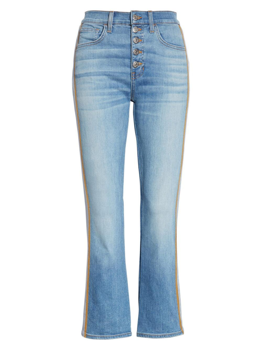Carolyn High Rise Baby Boot Cut Jeans