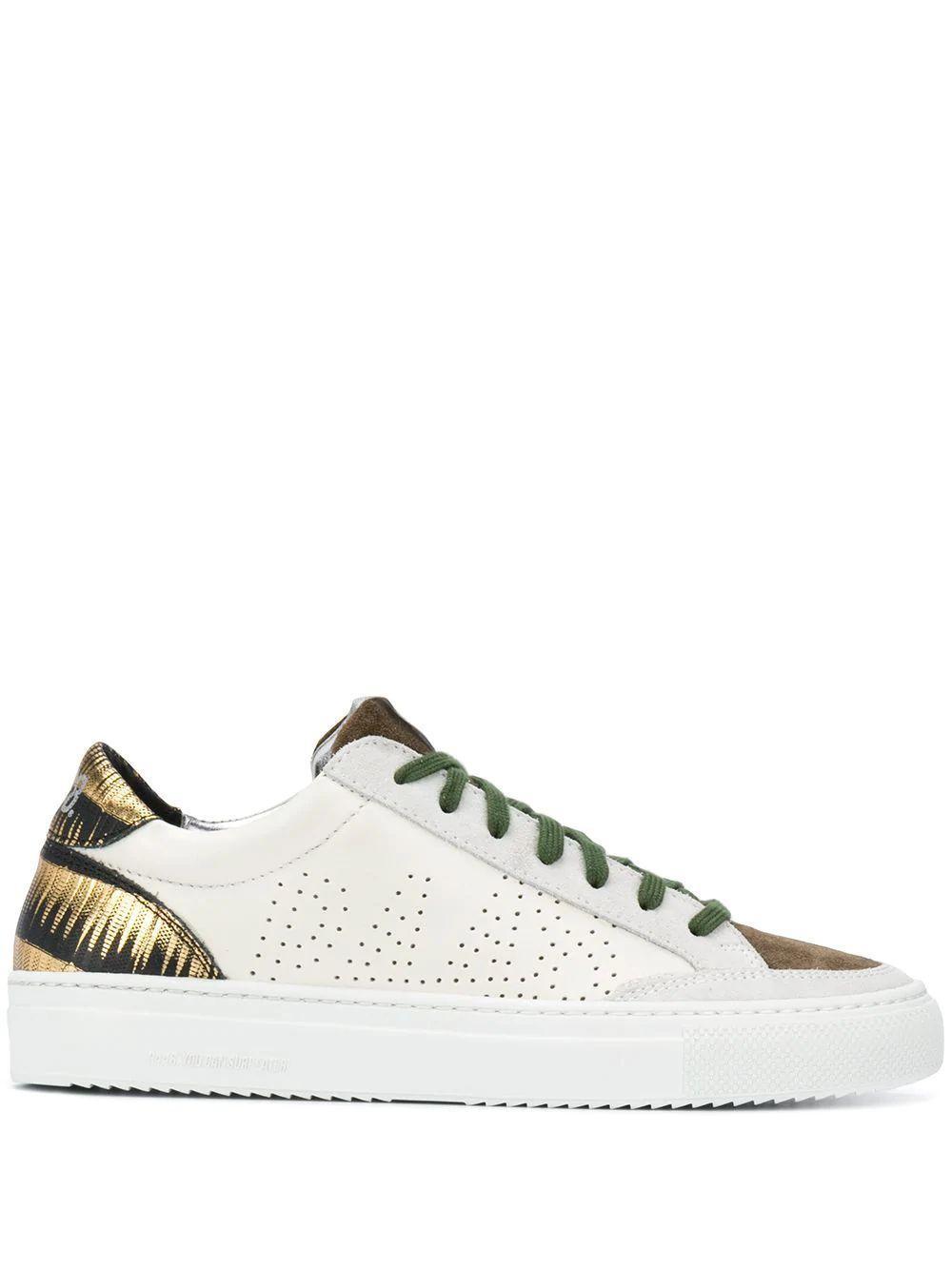 Soho Bronze Back Sneaker Item # F20SOHO-W