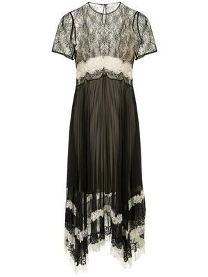 Haley Lace Combo T-shirt Dress