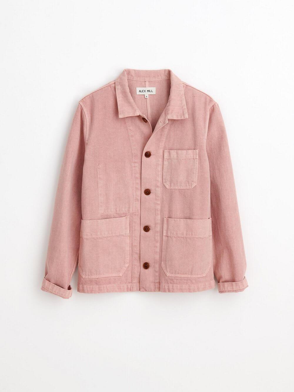 Britt Work Jacket In Recycled Denim Item # 206-WJ014-2551