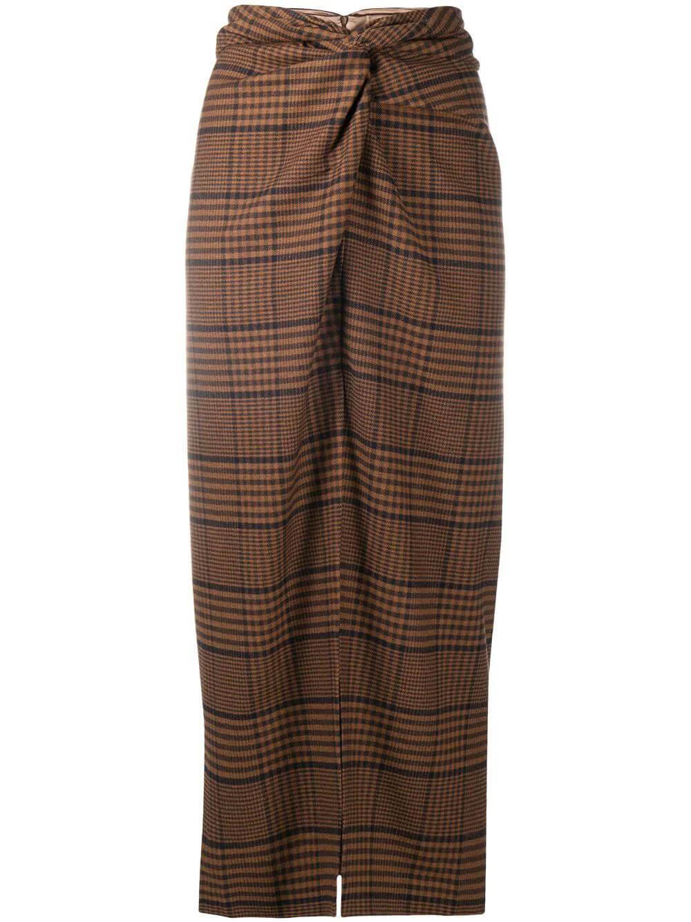 Samara Plaid Skirt Item # NW20PFSK01676