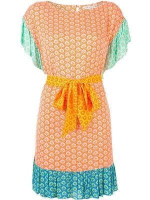 Ellamae Ruffle Shoulder Dress