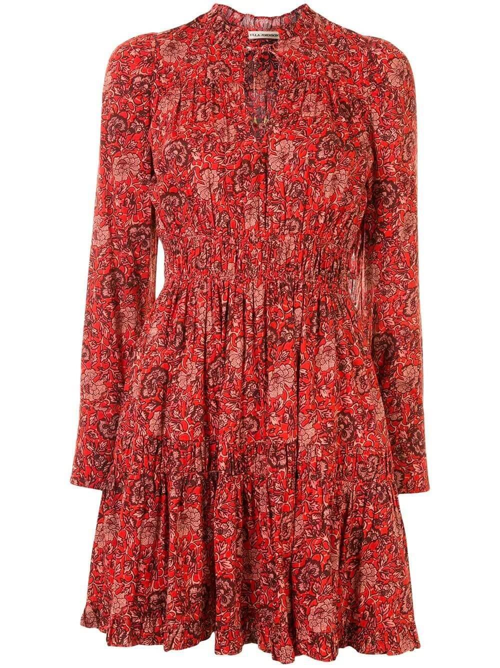 Liv Long Sleeve Short Dress