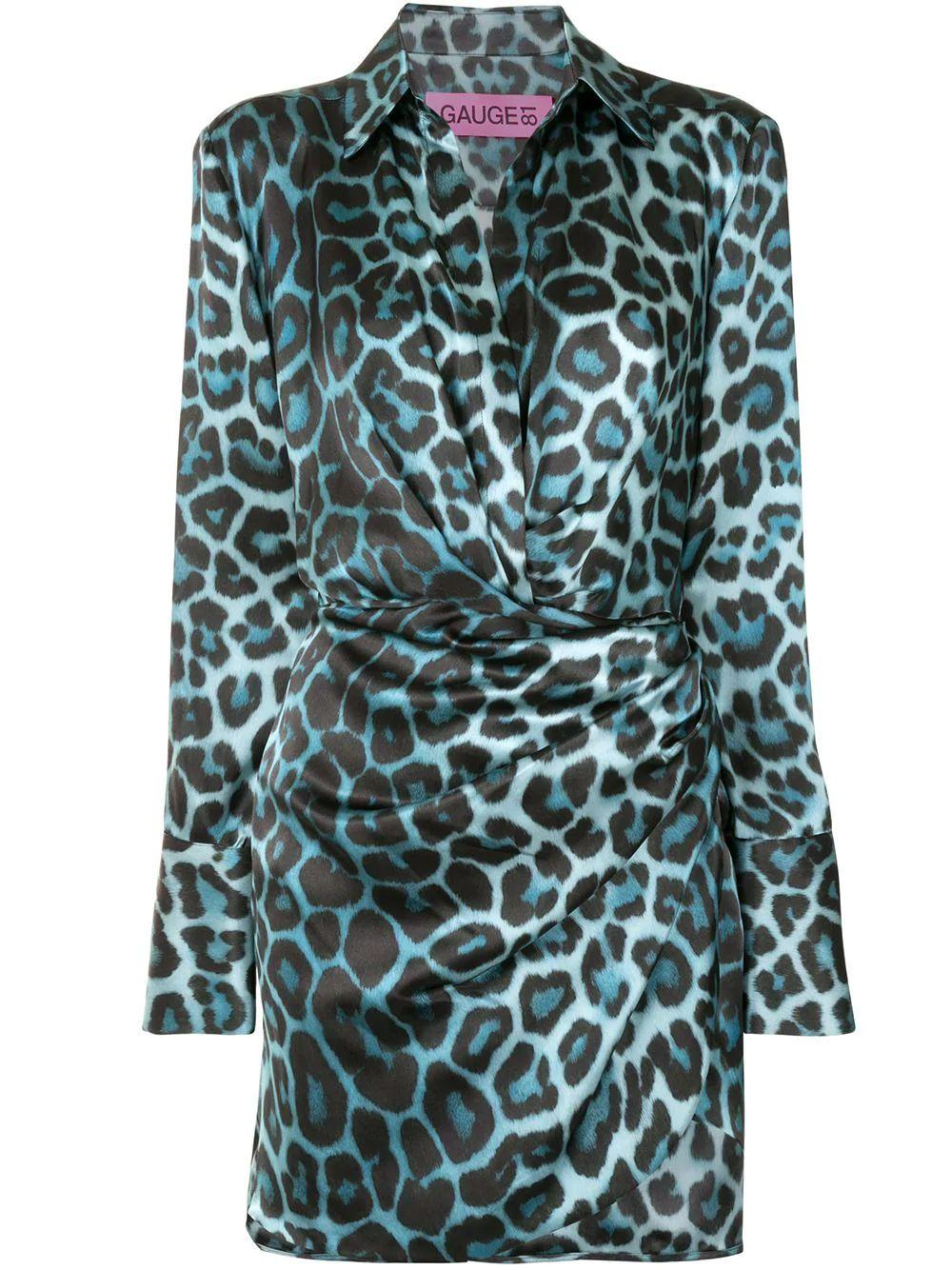 Naha Leopard Print Mini Dress