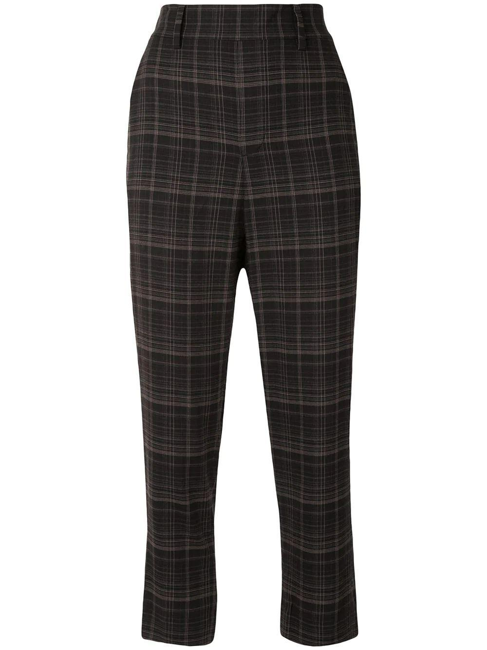 Classic Plaid Pull On Pant