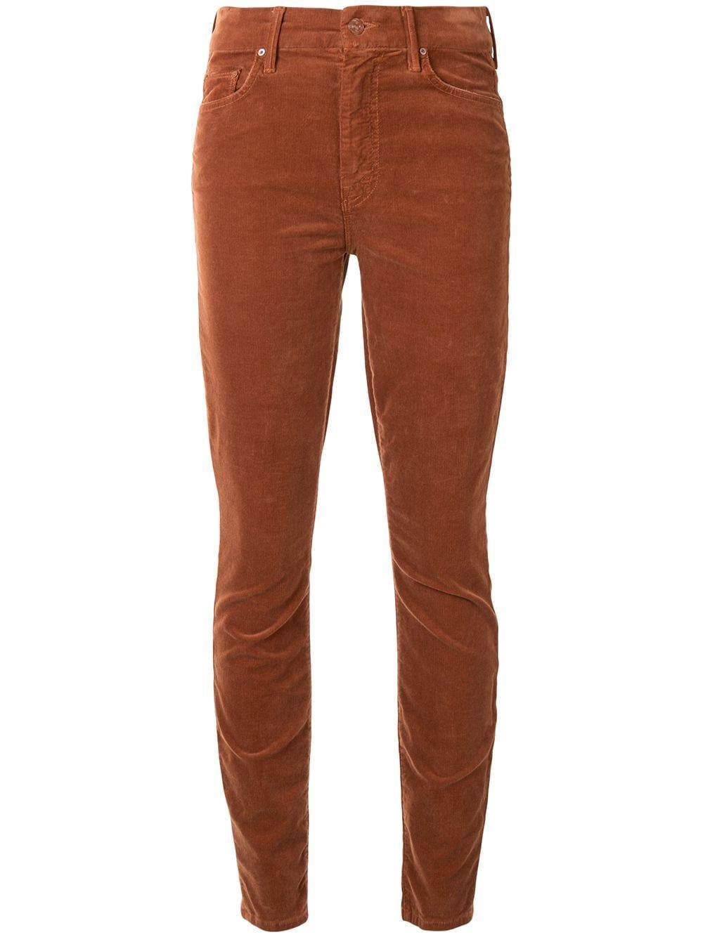 High Waist Looker Corduroy Skinny Pant