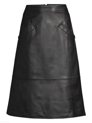 Emmy Leather Skirt