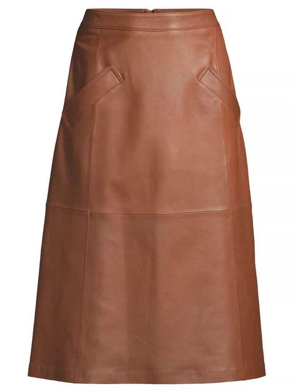 Emmy Leather Skirt Item # KF0S02-10