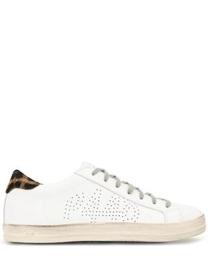 John Sneaker With Leopard Heel