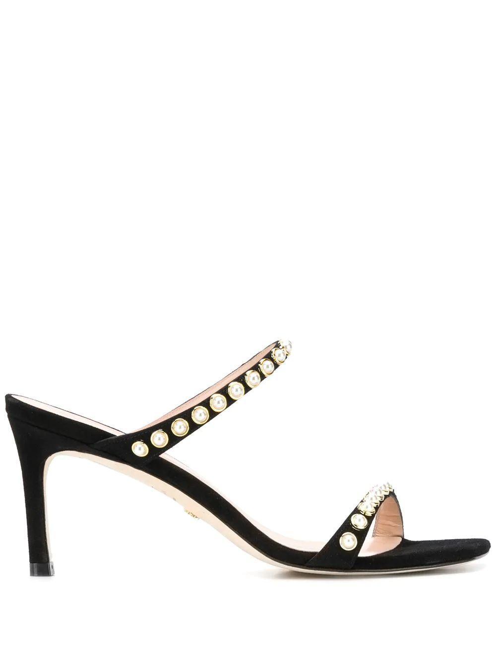 Aleena Pearl Strap Sandal Item # ALEENA100-PRL