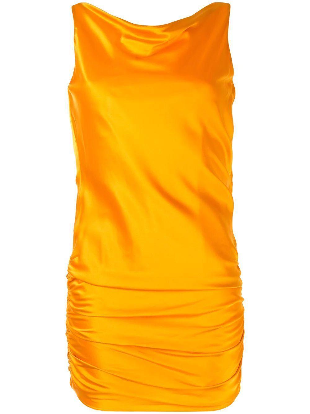 Jerie Drape Back Dress