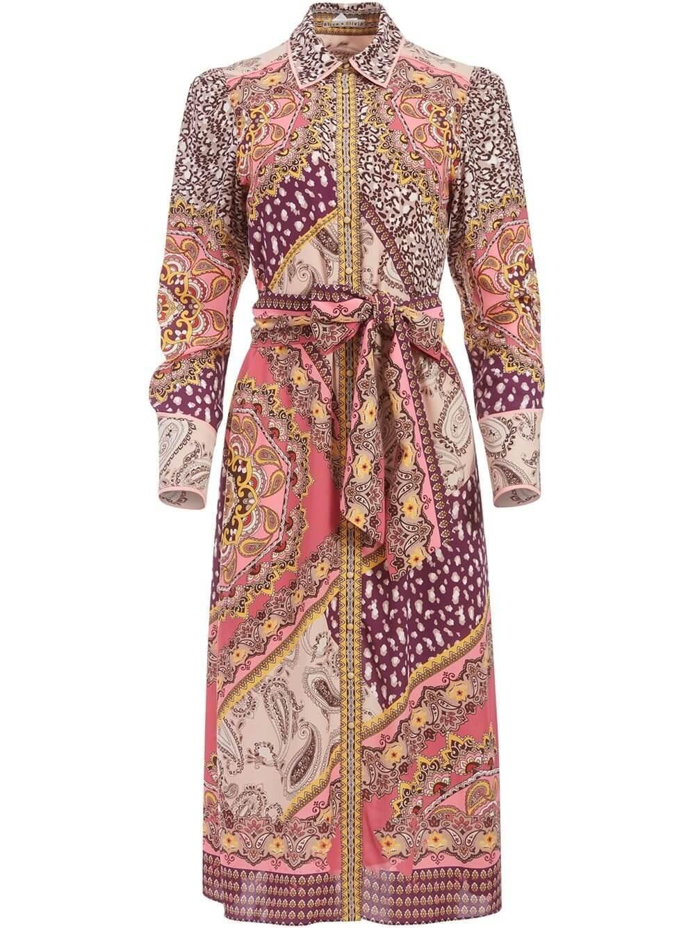 Luanne Shirt Dress Item # CC006P56509