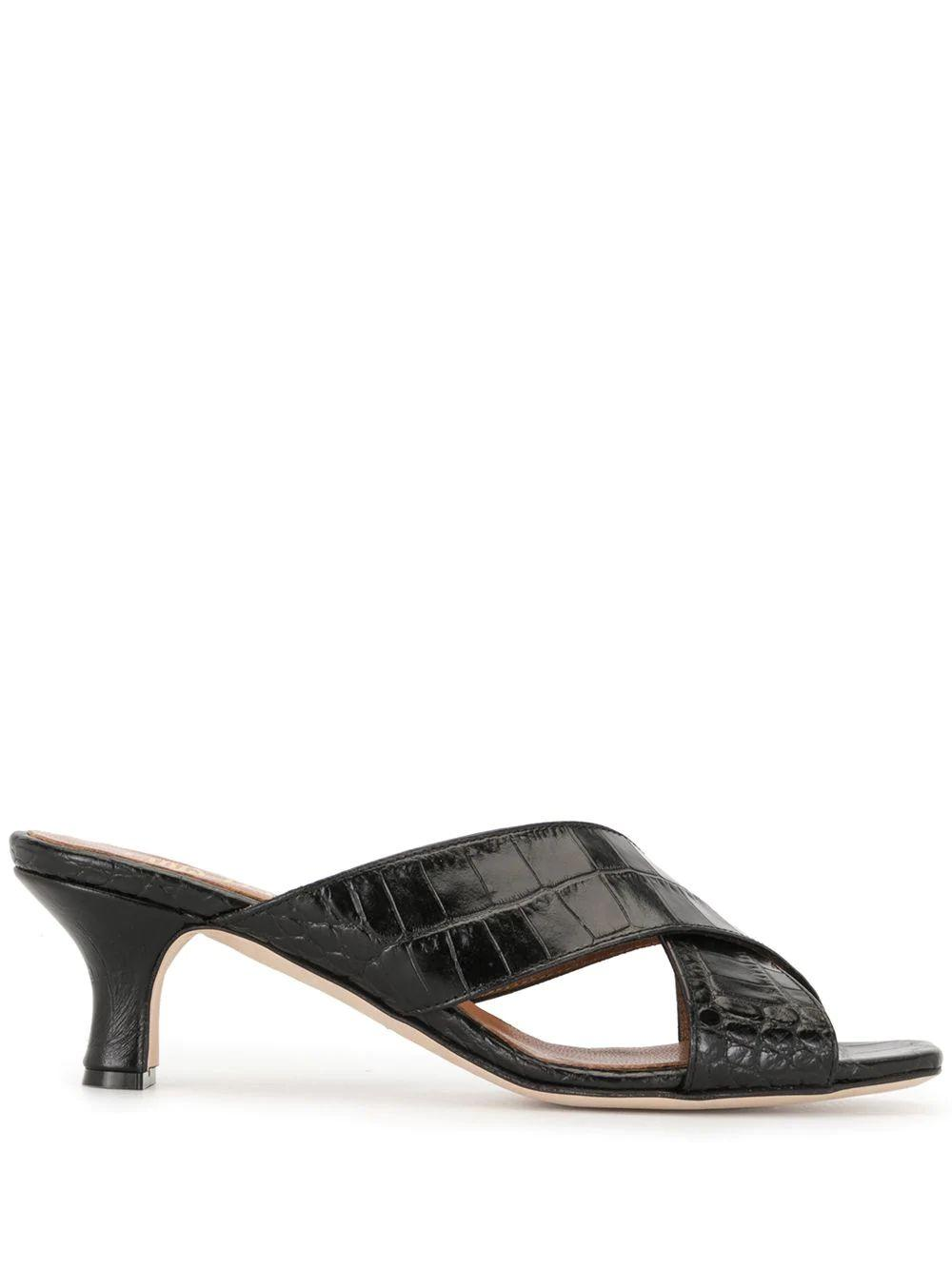 Croc Crossover Strap Mule Item # PX222-XCAG2