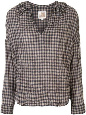 Penelope Gingham Shirt