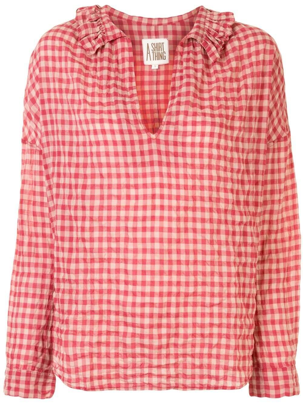 Penelope Gingham Shirt
