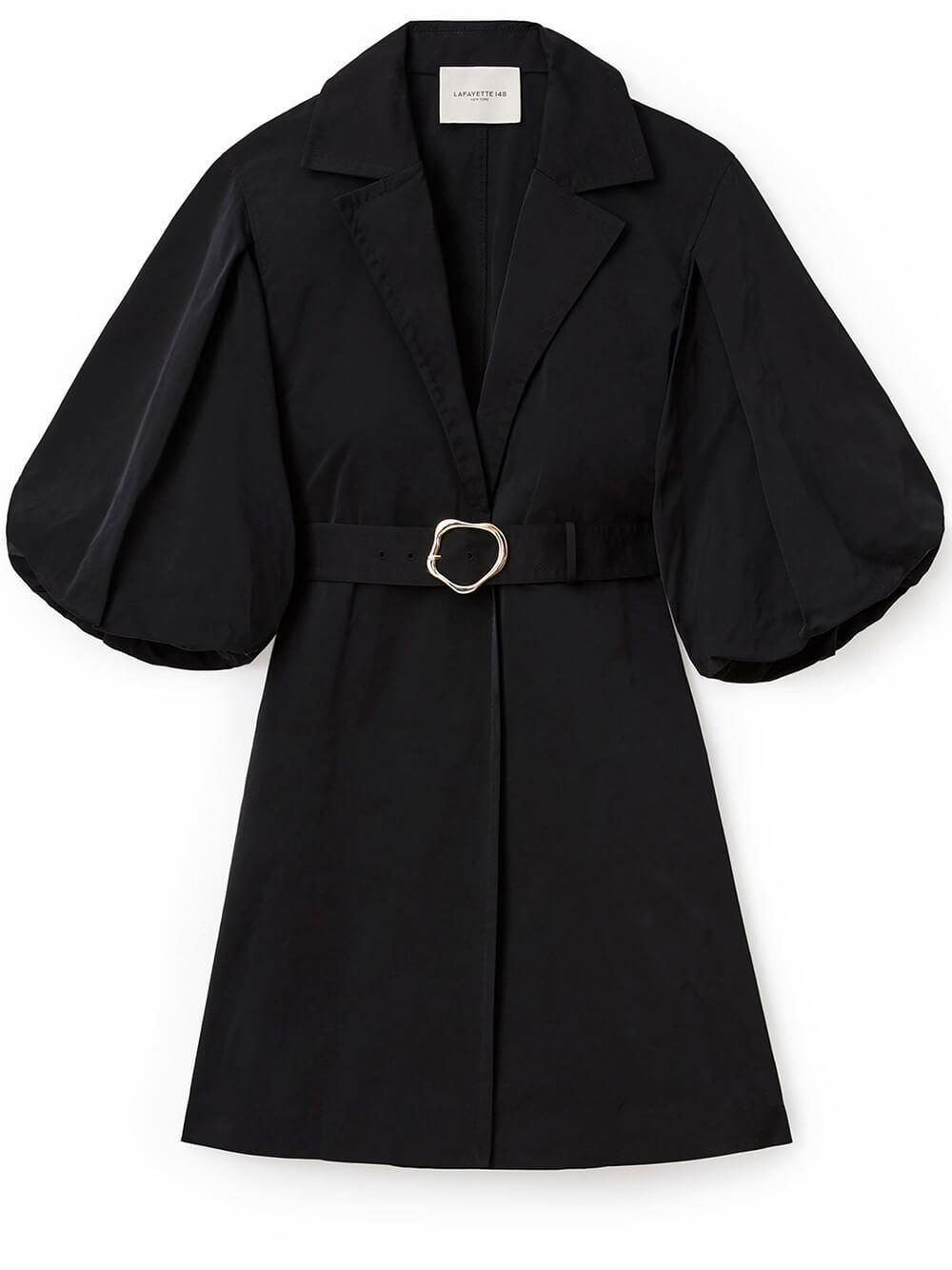 Rosa Taffeta Coat
