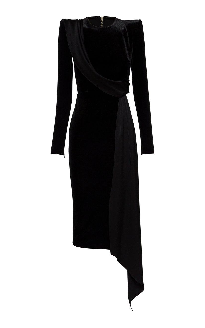 Briar Velvet Dress Item # D683